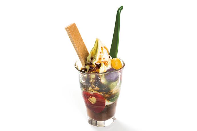 kelpパフェ(海鮮問屋 柿の匠)