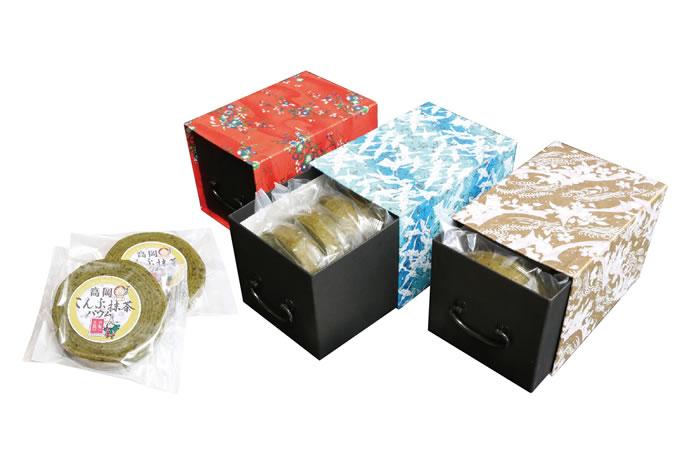 高岡昆布抹茶バウム薬箱セット